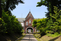 Trappist monastery, main gate Stock photo [3420927] Hokkaido