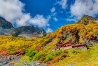 Autumn leaves of Karasawa Stock photo [3421104] Nagano