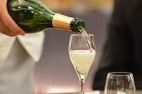 Champagne pouring into glass Stock photo [3422445] Champagne