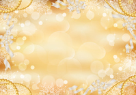 Light snow crystal ribbon background [3428910] Glitter