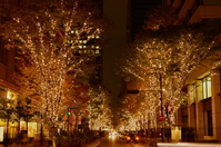 Tokyo Marunouchi illumination Stock photo [3431008] Tokyo