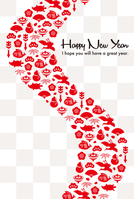 New Year's card [3628163] An
