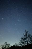 Starry winter Chausuyama Stock photo [3630860] Starry