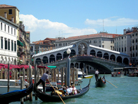 Italian Venezia Rialto Bridge Stock photo [3637046] Venice