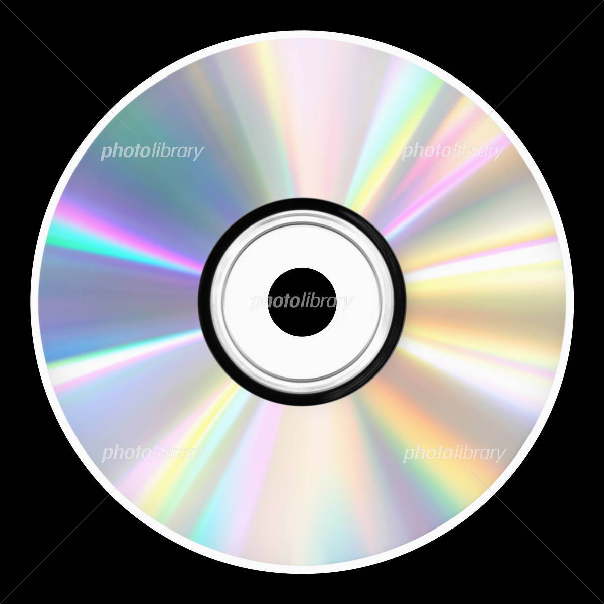 CD/DVDディスク(正面) イラスト素材 [ 3741678 ] - フォトライブ ...