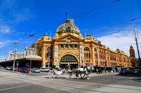 Flinders Street Station Stock photo [3737842] Flinders