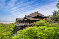 Kyoto World Heritage Site Kiyomizu-dera stock photo
