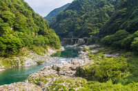 Tokushima Prefecture Oboke Gorges Stock photo [3848983] Oboke