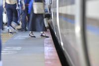 Landscape of train platform Stock photo [3854560] Station
