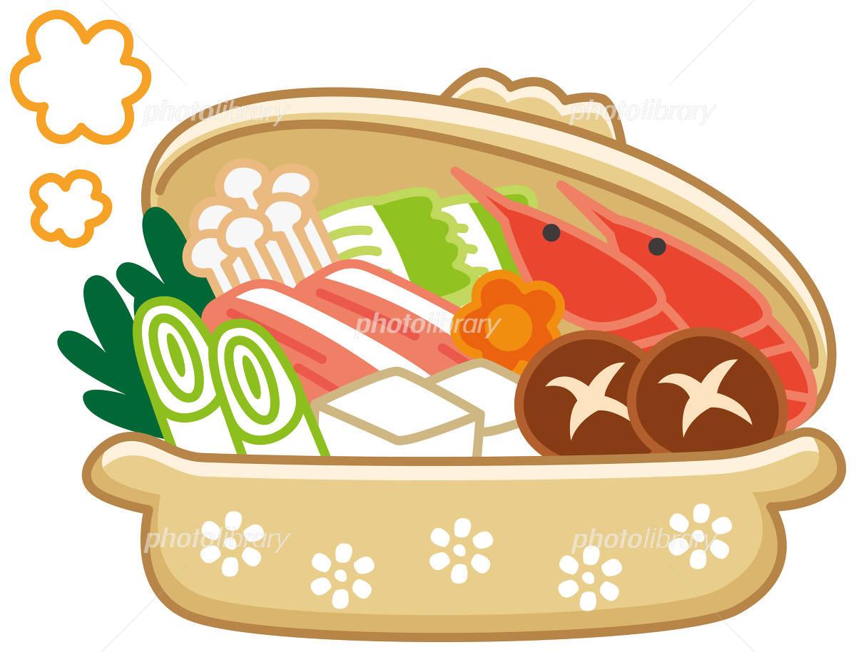 鍋料理 イラスト素材 3950567 フォトライブラリー Photolibrary