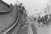 Kobe Line Hankyu that collapsed in Nishinomiya Hanshin Earthquake Stock photo [3947918] Nishinomiya