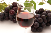 Red wine and grapes up Stock photo [3953503] Wine