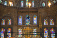 Stained glass of the Blue Mosque Stock photo [3953640] Blue