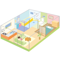 Floor plan of the house [3953811] House