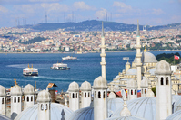 Istanbul historical district and Uskudar Stock photo [3955685] Istanbul