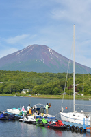 夏の山中湖