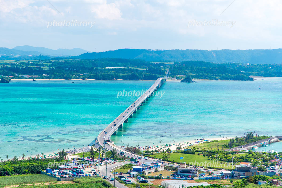 Okinawa Kouri Island Kouri Bridge Photo