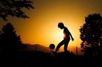 Boy to lifting Stock photo [4033309] Football