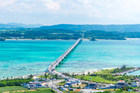 Okinawa Kouri Island Kouri Bridge Stock photo [4034174] Kouri