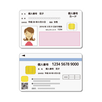 My number personal number card [4035611] My