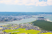 Matsubara and Karatsu of the rainbow Stock photo [4043473] Landscape