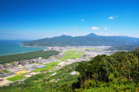 Matsubara and Karatsu of the rainbow Stock photo [4043494] Landscape