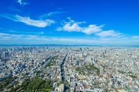 View from Osaka Abenobashi Terminal Building Stock photo [4044450] Osaka