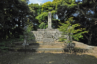 Kamei Korenori the tomb (Kano-cho) Stock photo [4108884] Tottori