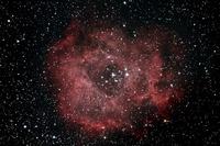 Rosette Nebula Stock photo [4112488] Winter