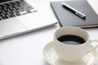 Coffee and PC Stock photo [4114046] coffee