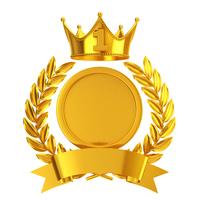 1 emblem of gold [4115472] Number