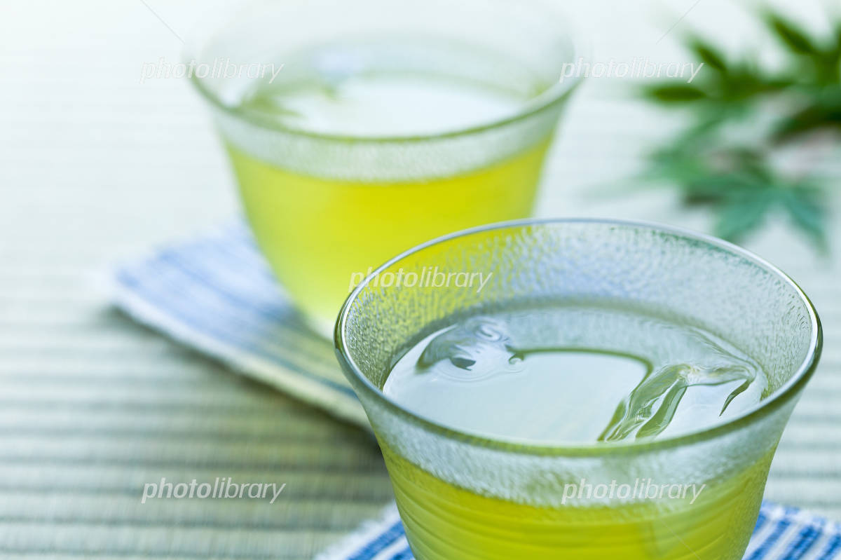The cold tea in the summer Photo