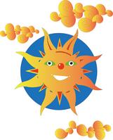 CG illustrations sun Stock photo [149262] Sun