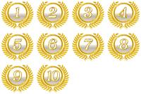 Medal ranking Top Ten [4791608] Medal