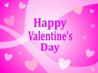 Valentine's Day logo line background [4792877] Valentine
