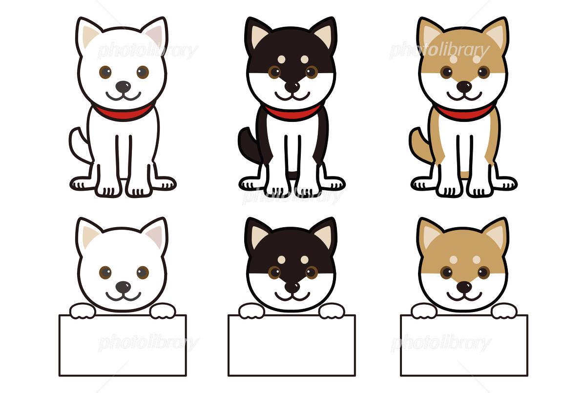 柴犬 犬 イラスト素材 4891706 フォトライブラリー Photolibrary