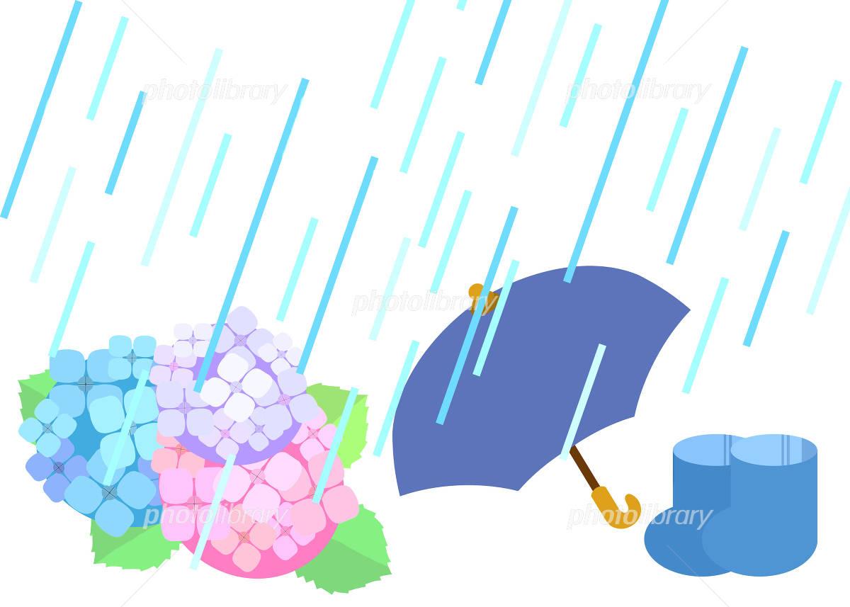 梅雨の壁紙 イラスト素材 4995977 フォトライブラリー Photolibrary