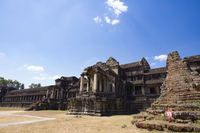 Angkor ruins Angkor Wat East exit Stock photo [4985551] A