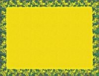 黄色いフレーム