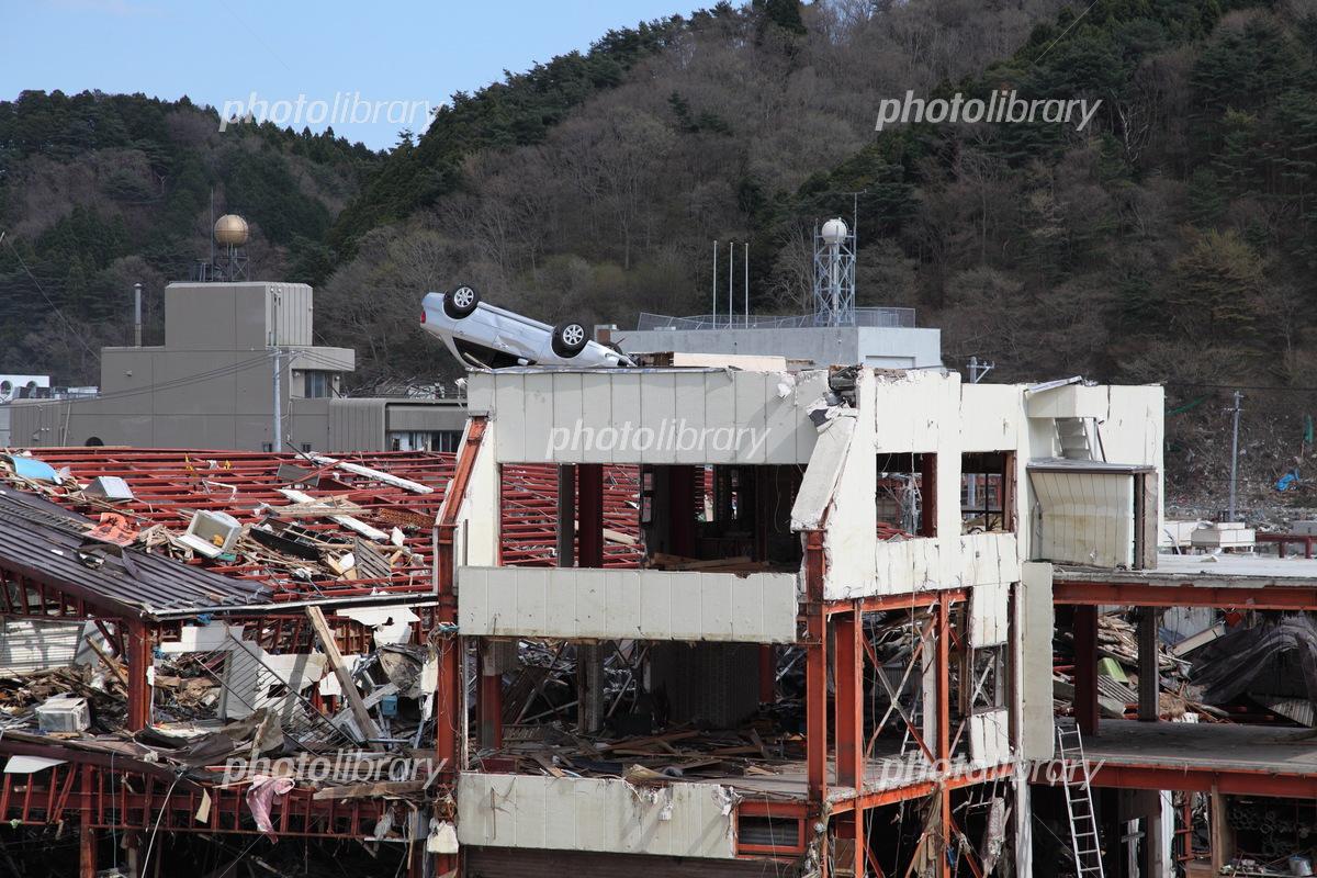 東日本大震災 津波被害  の写真