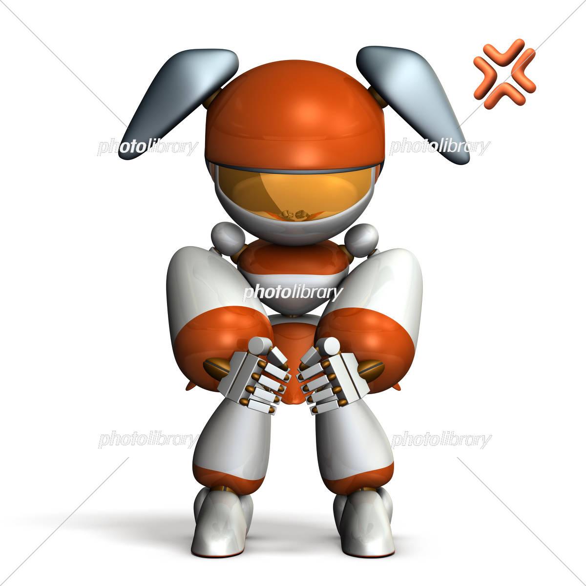イラつくロボット イラスト素材 5089890 フォトライブラリー