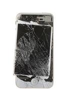 Broken smartphone Stock photo [5080184] Destruction