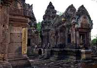 Cambodia Angkor Ruins Stock photo [5083200] Landscape