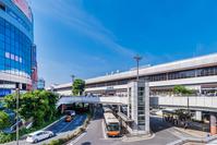 Omiya station west entrance Stock photo [5083279] Saitama