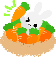 Cute rabbit illustration [5088668] An