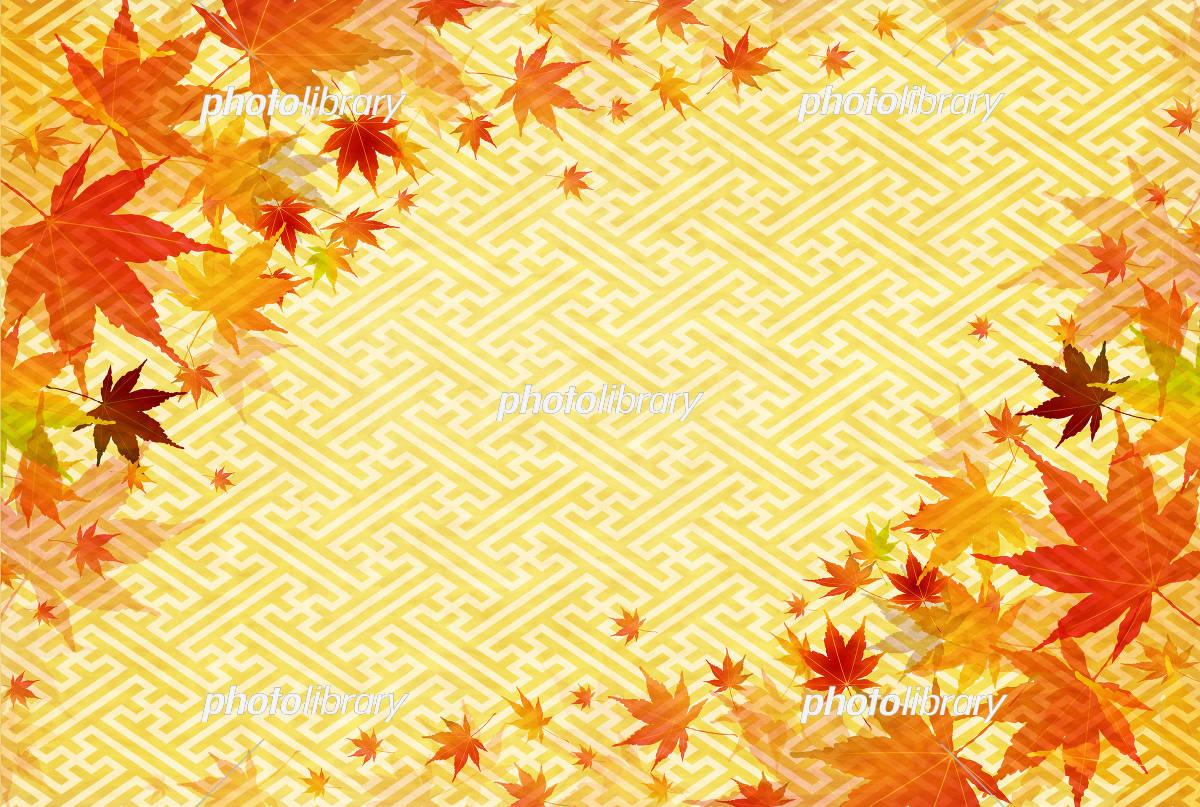 秋背景 イラスト素材 [ 5170299 ] - フォトライブラリー photolibrary