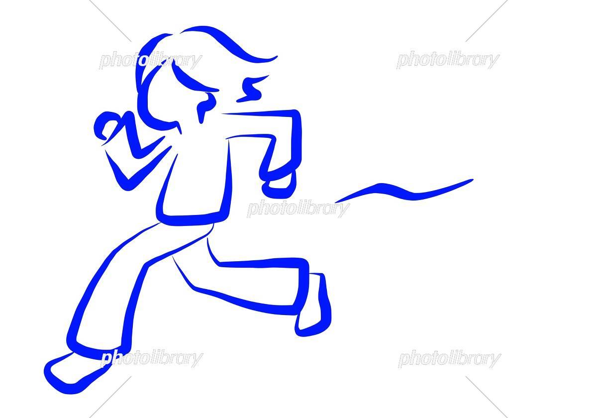 走る人 イラスト素材 5177680 フォトライブラリー Photolibrary