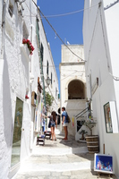 Ostuni Old town streets  Photo