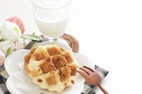 写真 Almond's Belgian waffle(5266735)