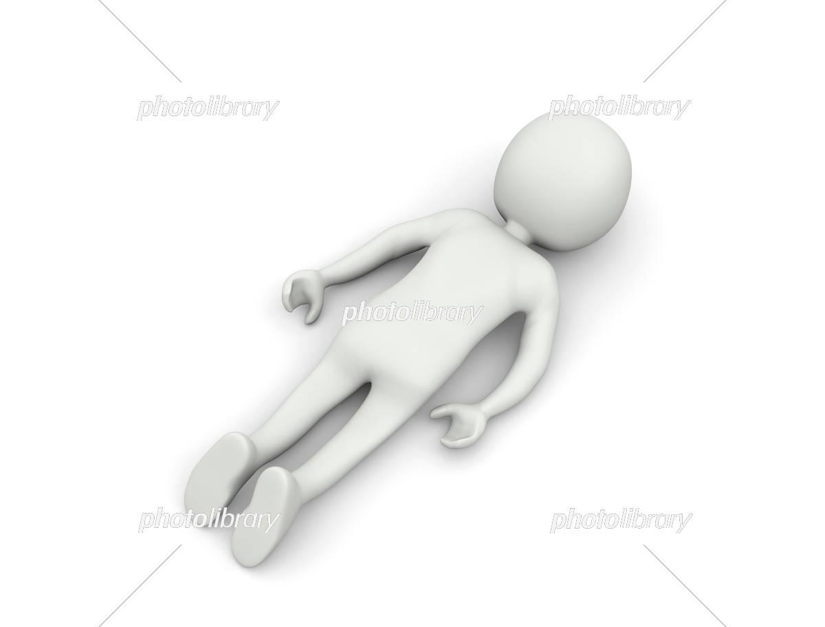 倒れるキャラクター イラスト素材 5361532 フォトライブラリー